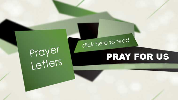 Read our latest Prayer Letter